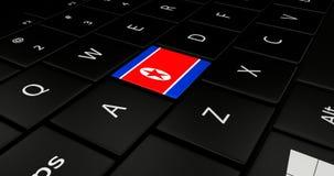 Portátil do teclado ilustração stock
