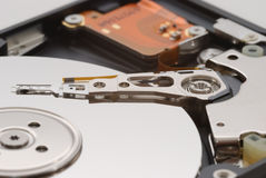 Portátil HDD Imagens de Stock Royalty Free