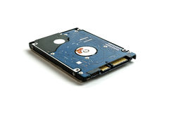2 portátil HDD de 5 polegadas Fotos de Stock