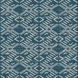 Porté fond sans couture antique Diamond Check Cross Geometr illustration stock