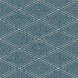 Porté fond sans couture antique Diamond Check Cross Vortex illustration libre de droits