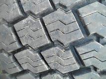 Portée bande de roulement du vieux pneu photo libre de droits