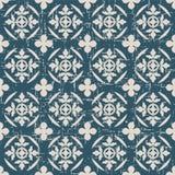 Portée courbe ronde sans couture de feuille antique du fond 012_nature Photo stock