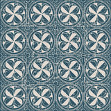 Portée croix antique sans couture de la géométrie du fond 138_round Images libres de droits