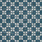 Portée fleur antique sans couture de croix du fond 185_square Images libres de droits