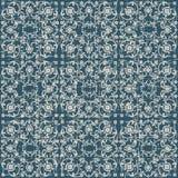 Portée fleur antique sans couture de vigne de spirale du fond 200_cross Image stock