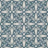 Portée ligne antique sans couture de croix du fond 197_spiral Photographie stock