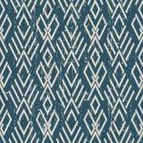 Portée vérification des antécédents sans couture antique Diamond Cross Geometr illustration de vecteur