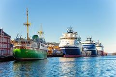 portów statków fotografia stock
