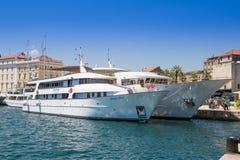 portów statków croatia rozłam Obraz Royalty Free