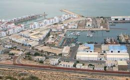 Port à Agadir #1 Photo stock