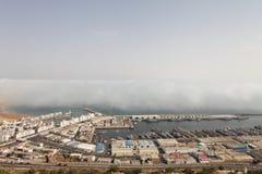 Port à Agadir, Maroc Photographie stock libre de droits