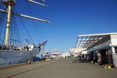 Port à Gdynia Image libre de droits