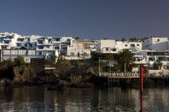 Port à Lanzarote Photos stock