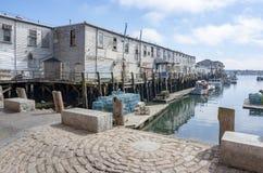 Port à Portland photographie stock libre de droits