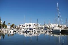 Port à Tunis Photographie stock libre de droits
