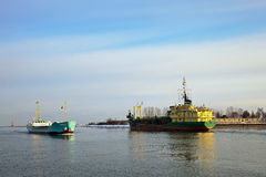 port Obrazy Royalty Free