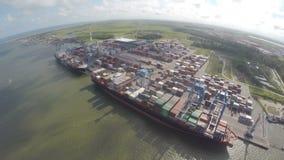 port stock video