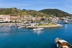Port of Acciaroli, Salerno. Royalty Free Stock Photos