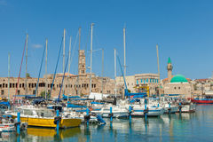 Port of Acre, Israel Stock Photos