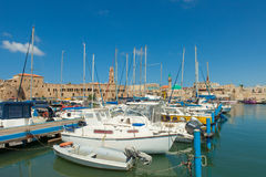 Port of Acre, Israel Stock Image