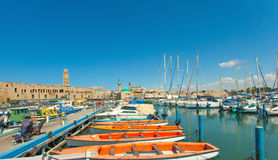 Port of Acre, Israel Stock Photography
