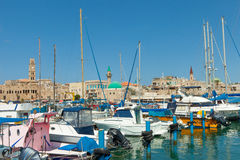 Port of Acre, Israel Stock Photo