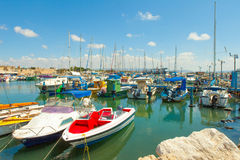 Port of Acre, Israel Royalty Free Stock Image