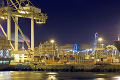 Port activity Stock Images