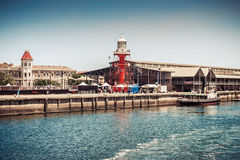 The Port Adelaide Lighthouse Royalty Free Stock Photos