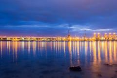 Port Afrique du Sud de Durban Image libre de droits