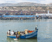 Port in agadir Stock Photography