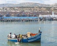 Port in agadir stock photography