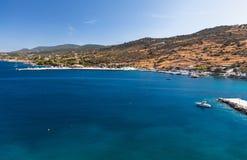 Port Agios Nikolaos greece Zakynthos Zdjęcia Stock