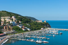 Port of Agropoli Royalty Free Stock Image