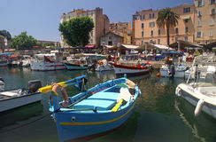 Port of Ajaccio, Corsica Stock Photos