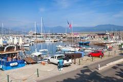 Port Ajaccio stolica Corsica Zdjęcie Royalty Free