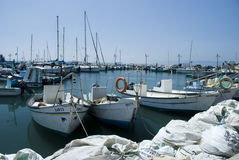 Port in Akko (Acre), Israel Royalty Free Stock Image