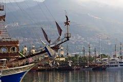 Port of Alanya, Turkey Royalty Free Stock Image