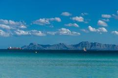 Port Alcudia Royaltyfri Bild