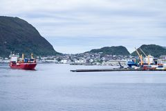 Port of Alesund Royalty Free Stock Image