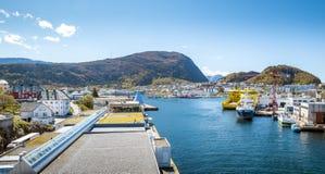 Port in Alesund, Norway Stock Images