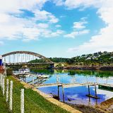 Port Alfred Bridge stock photo