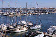 Port of Alghero - Sardinia - Italy Royalty Free Stock Images