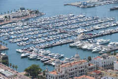 Port, Alicante, Espagne Photo stock