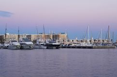 Port in Alicante Royalty Free Stock Photos