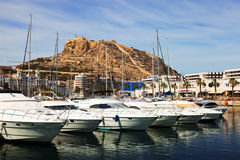 Port of Alicante Royalty Free Stock Image