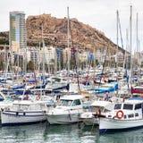 Port of Alicante Stock Photos