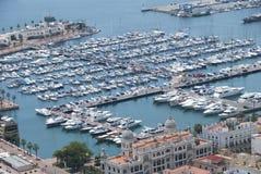 Port Alicante, Spanien Arkivfoto