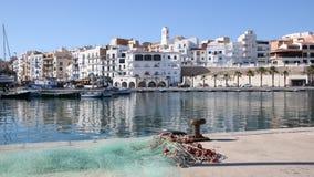 Port Ametlla De Mącący, Hiszpania zdjęcia stock